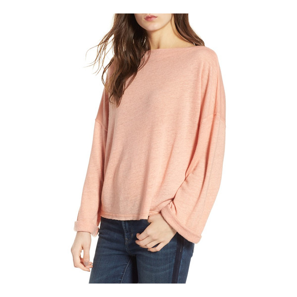 TREASURE & BOND slouchy pullover - Whether you're lounging at home or meeting the girls for...