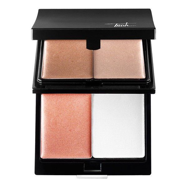 TRISH MCEVOY Illuminating cream palette - Trish s four-step cream face and complexion enhancer...