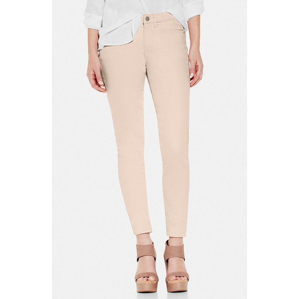 TWO BY VINCE CAMUTO stretch skinny jeans - A delicate shade brings a springtime refresh to classic...
