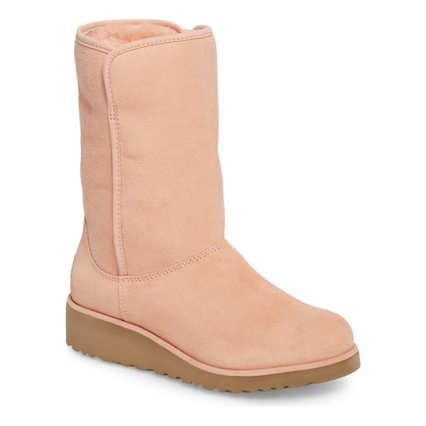 UGG amie - Water-resistant suede upgrades a classic short boot,...