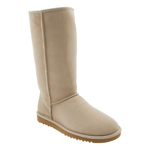 UGG classic tall boot - The iconic offering from UGG: a tall sheepskin suede boot...