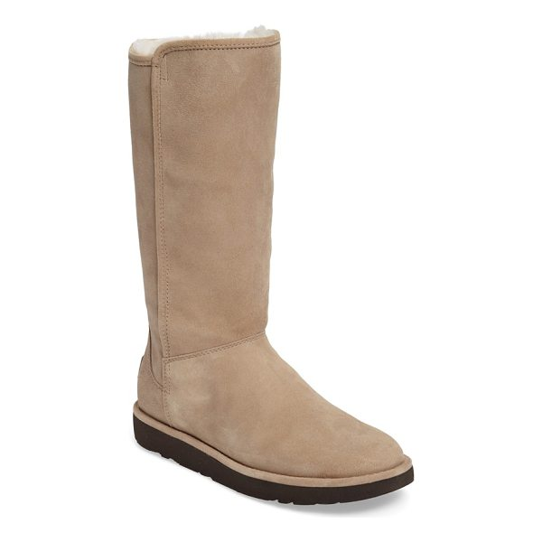 UGG abree ii tall boot - Water-resistant suede upgrades an iconic boot, updated with...