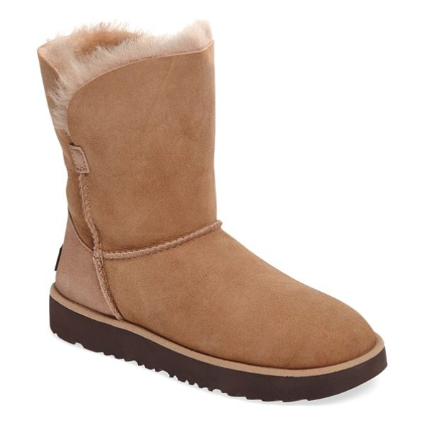 UGG classic cuff short boot - Now pretreated to protect against moisture and staining,...