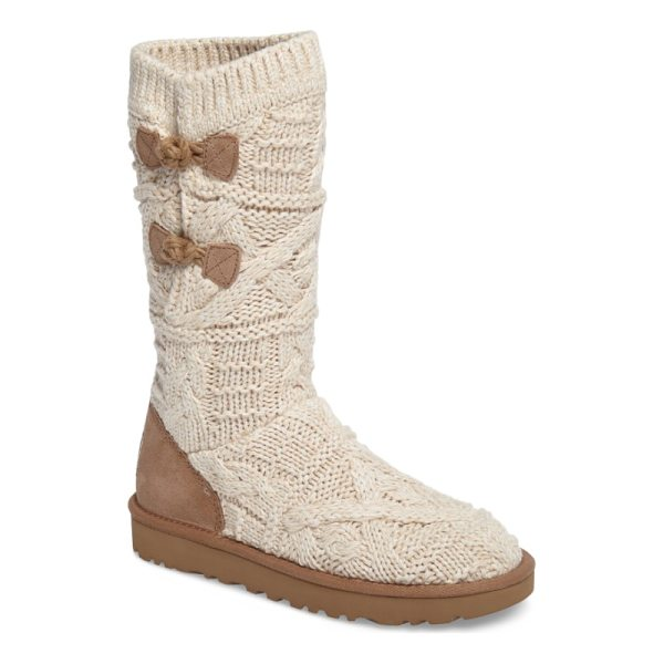 UGG kalla boot - Chunky knit construction defines a cozy cold-weather boot...