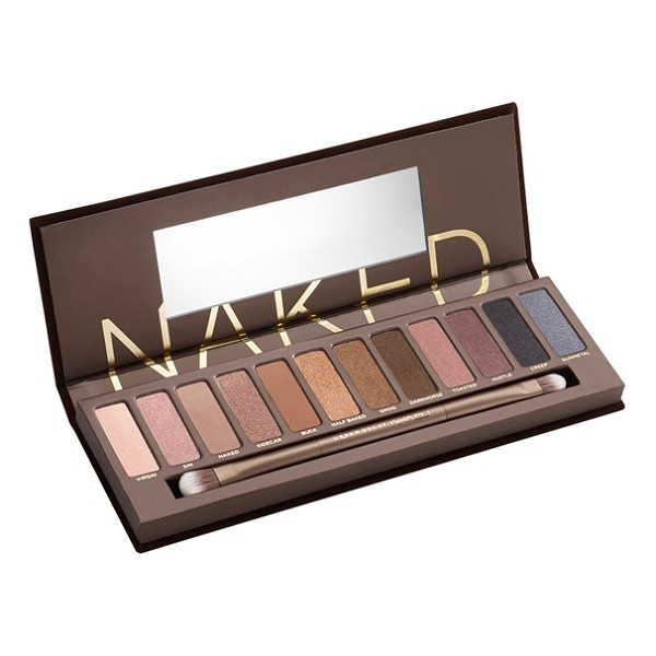 URBAN DECAY naked palette - Loaded with 12 bronze-hued eyeshadows in an insane range of...