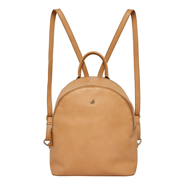URBAN ORIGINALS magic vegan leather backpack - A clean and curvy silhouette defines a versatile backpack...