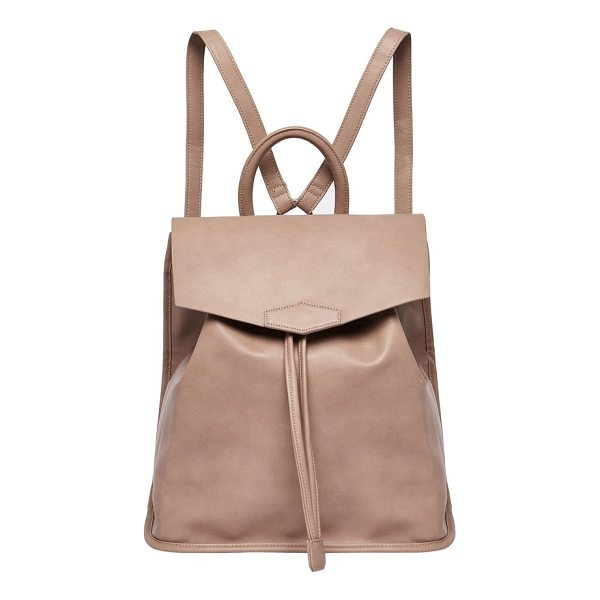 URBAN ORIGINALS night fever vegan leather backpack - A durable, water-resistant backpack is made from lightly...