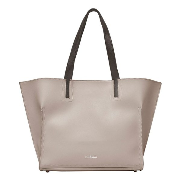 URBAN ORIGINALS obsession vegan leather tote - Contrast handles add interest to a roomy, lightly...