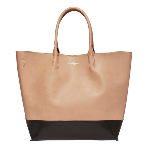 URBAN ORIGINALS revenge colorblock faux leather tote - Tonal color blocking and a clean, uncomplicated design