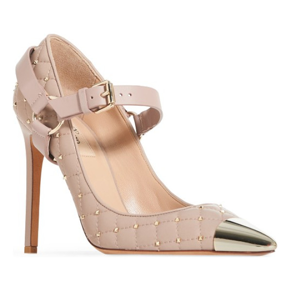 VALENTINO rockstud spike pump - This pump offers edge in droves with Valentino's signature...