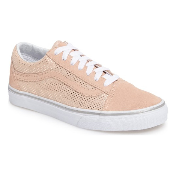 VANS old skool sneaker - Signature curved stripes and suede trim define a retro,...
