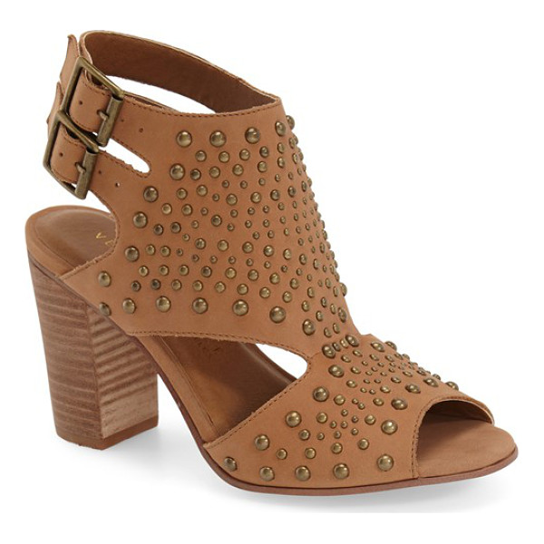 VERY VOLATILE anamaria studded sandal - Mixed-scale dome studs pepper the smooth leather of a...