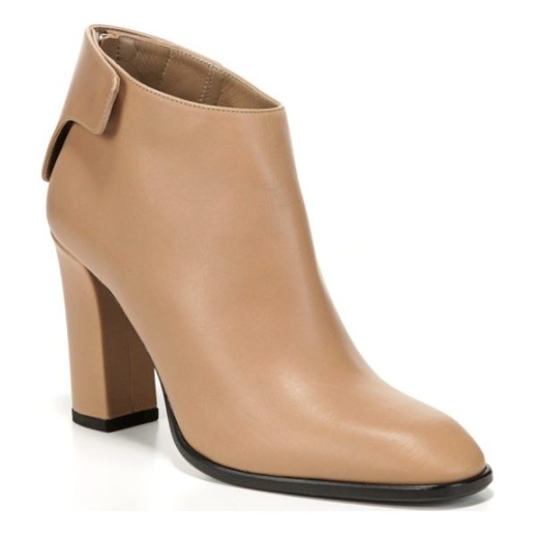 VIA SPIGA aston ankle boot - Smooth Italian leather heightens the refined style of a...