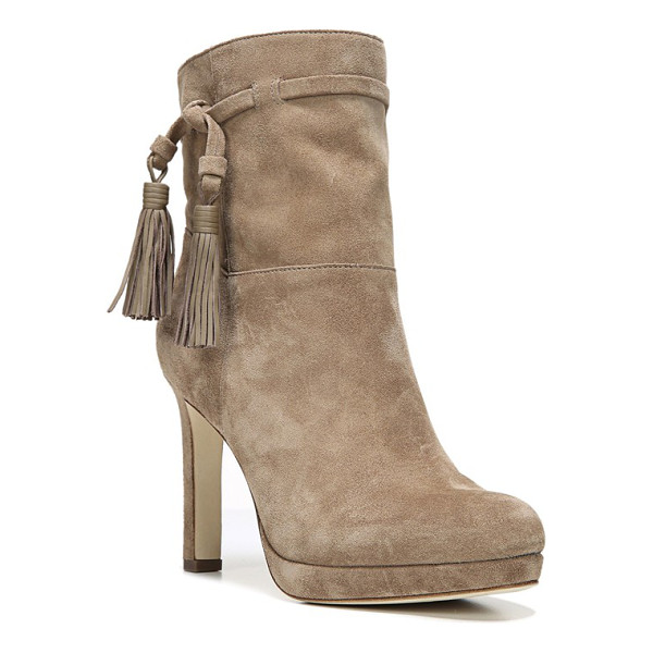 VIA SPIGA 'bristol' tassel boot - Bold leather tassels wrapping the fitted cuff add an...