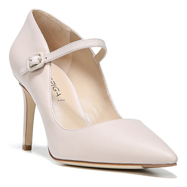 VIA SPIGA camilla pointy toe pump - The classic mary jane gets a modern makeover with a...