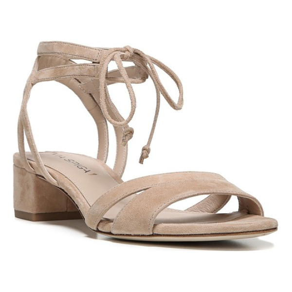 VIA SPIGA taryn block heel sandal - A low block heel adds trend-right lift to a strappy
