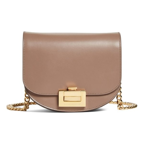 VICTORIA BECKHAM medium box leather shoulder bag - A signature style from Victoria Beckham in smooth calfskin...