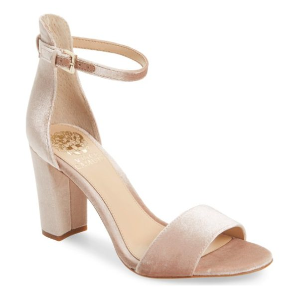 VINCE CAMUTO corlina ankle strap sandal - Slender straps at the toe and ankle define the barely there...