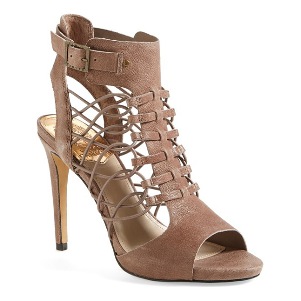 VINCE CAMUTO fossel sandal - Looped, elasticized cords lend a foot-flattering fit to a...