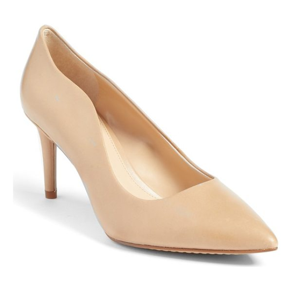 VINCE CAMUTO jaynita pointy toe pump - A curvy topline adds a more flirtatious feel to a classic...