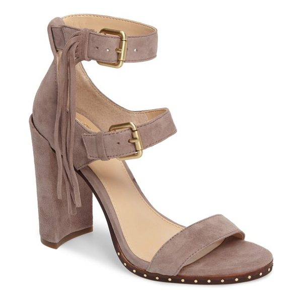 VINCE CAMUTO jesina sandal - Boho or cowgirl, this triple-strap sandal with a commanding...