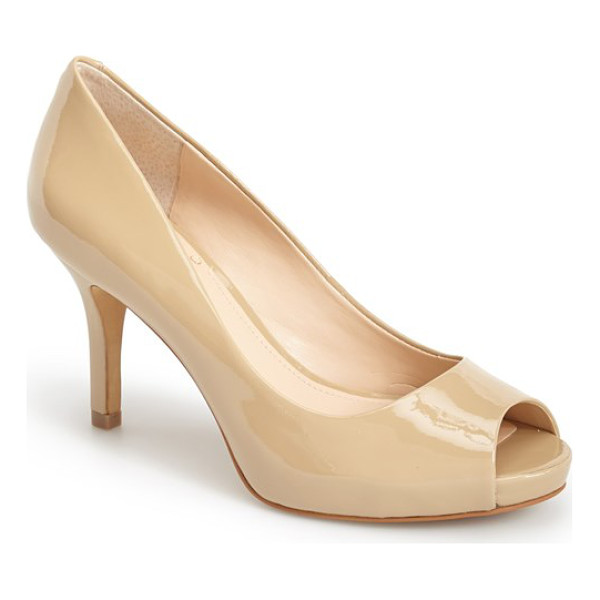 VINCE CAMUTO kiley peep toe platform pump - A peep-toe pump that's versatile enough to go from the...