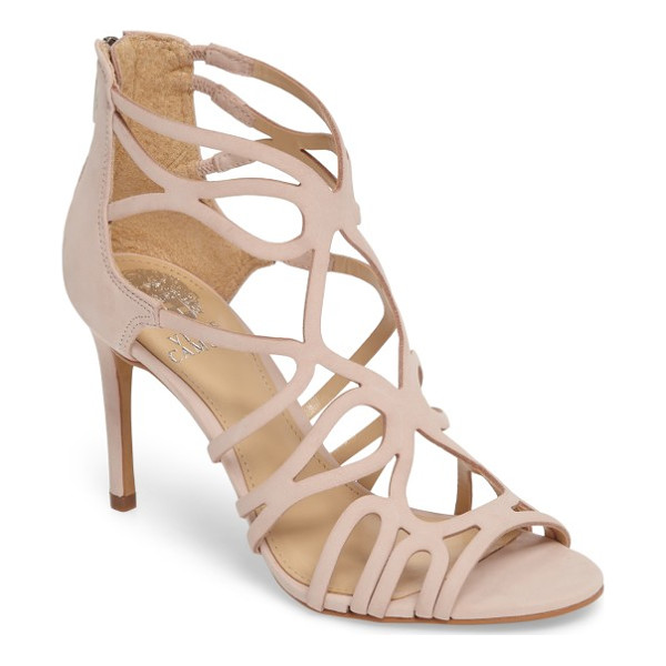 VINCE CAMUTO lorrana cage sandal - Curvy cutouts arc and contour into a gorgeously sinuous...