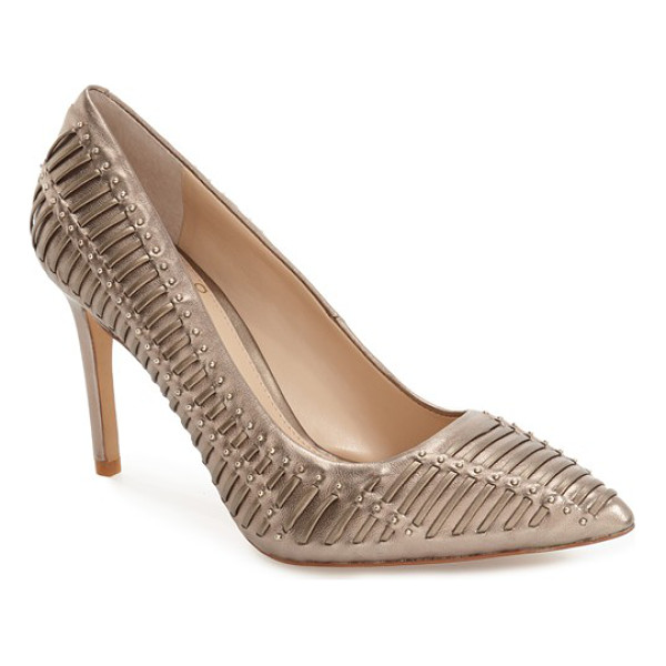 VINCE CAMUTO 'narissa' pump - All eyes will be on you in this striking, pointy-toe pump...