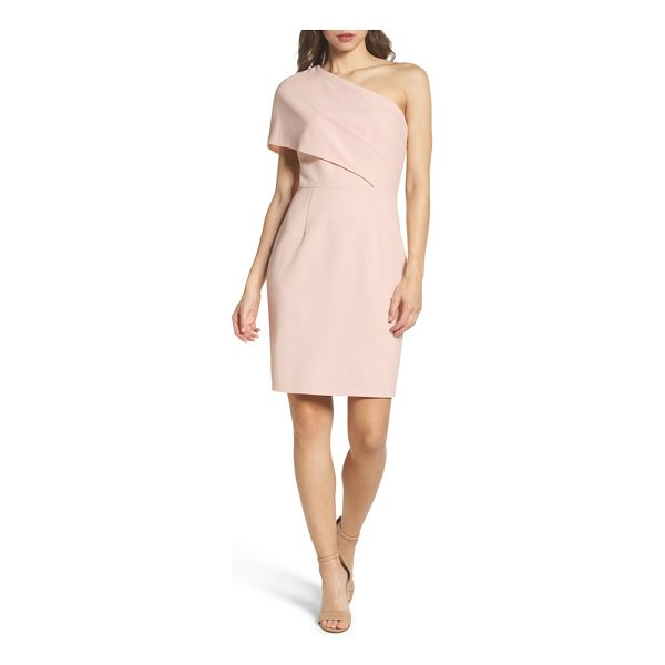 VINCE CAMUTO one-shoulder body-con dress - Artfully draped with a dramatic one-shoulder neckline, this...