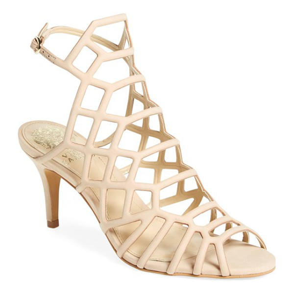 VINCE CAMUTO 'paxton' slingback sandal - Geometric strap placement and a high-set slingback strap...
