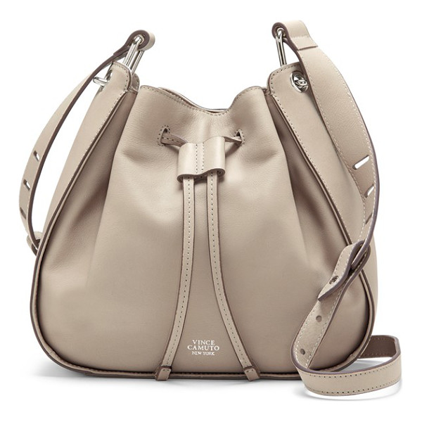 VINCE CAMUTO Rayli bucket bag - Complete your around-town look with the casual...