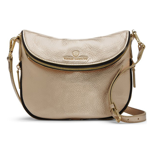 VINCE CAMUTO Rizo crossbody bag - A slightly slouched profile and richly textured leather...