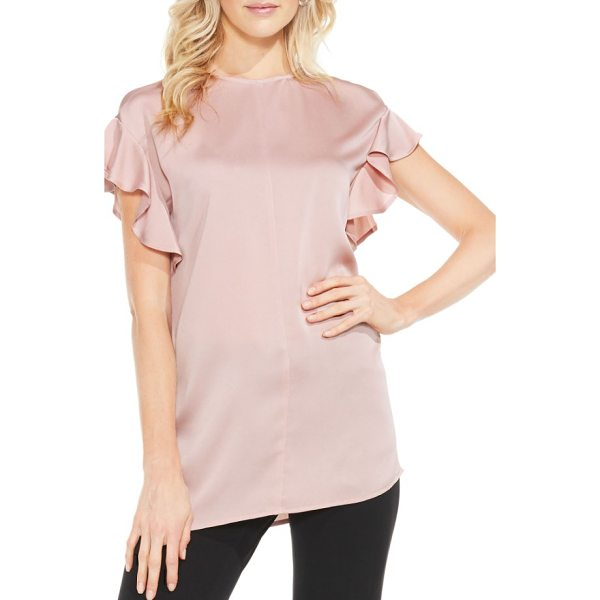 VINCE CAMUTO ruffle sleeve blouse - Ruffled sleeves add the perfect dash of feminine frill to a...