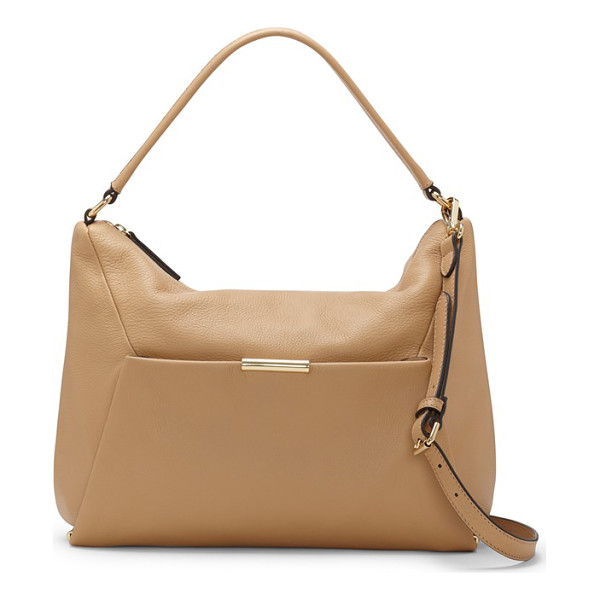 VINCE CAMUTO Shane leather shoulder bag - Designed with clean, modern lines and an understated...
