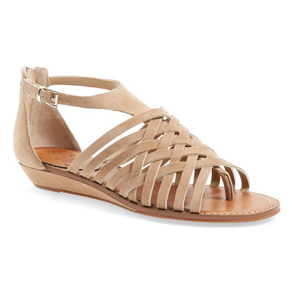 VINCE CAMUTO syndia sandal - A trend-savvy sandal with thin woven straps cut from...