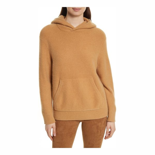 VINCE cashmere hoodie - An elevated take on an everyday essential, this pullover...