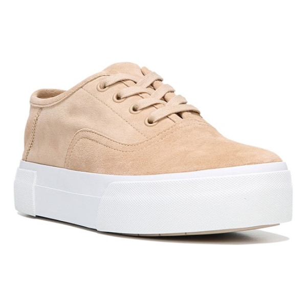 VINCE copley platform sneaker - A wardrobe-essential sneaker becomes the height of casual...