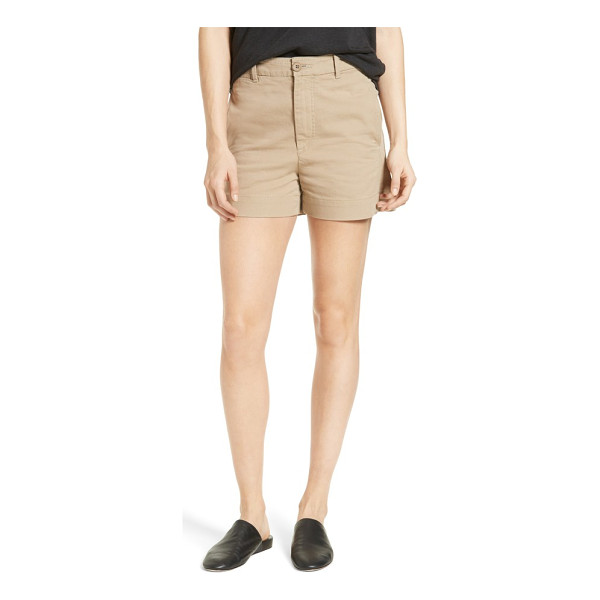 VINCE utility short - Ready for off-duty adventures, relaxed shorts are cut from...