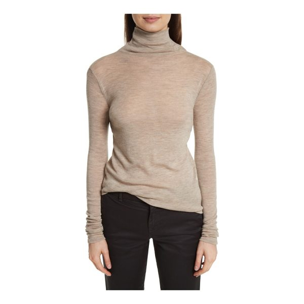 VINCE wool turtleneck - Destined for heavy rotation in your fall closet-but light...