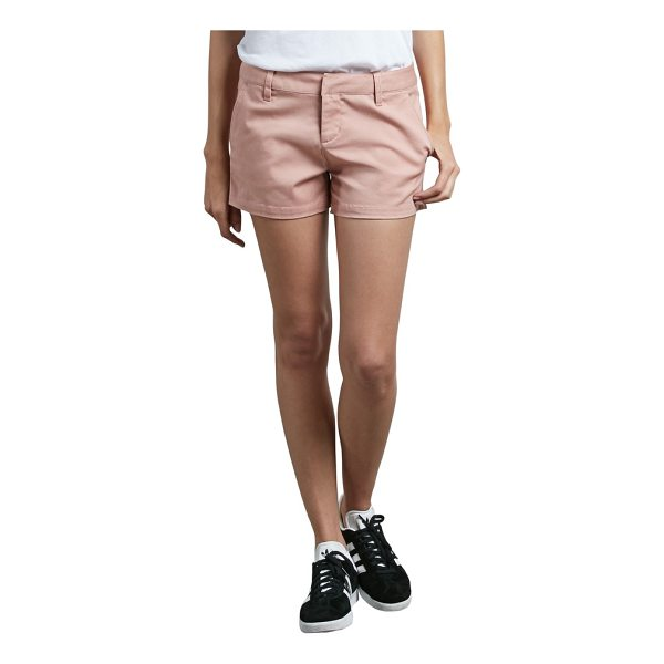 VOLCOM frochickie chino shorts - Classic chino shorts are made from a soft cotton blend that...