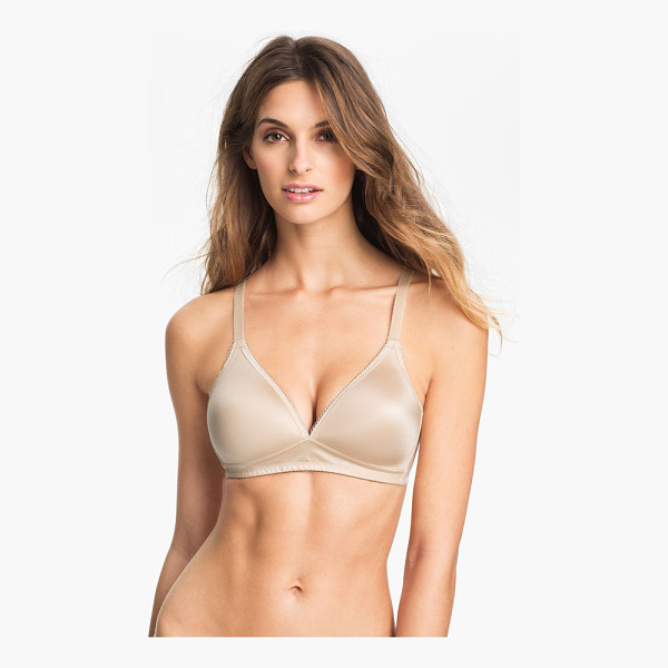 WACOAL basic beauty soft cup bra - An exceptionally comfortable wire-free bra features...
