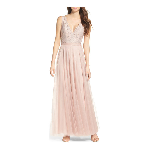 WATTERS desiree tulle dress - Wispy, ethereal and lovely, this softly voluminous gown...