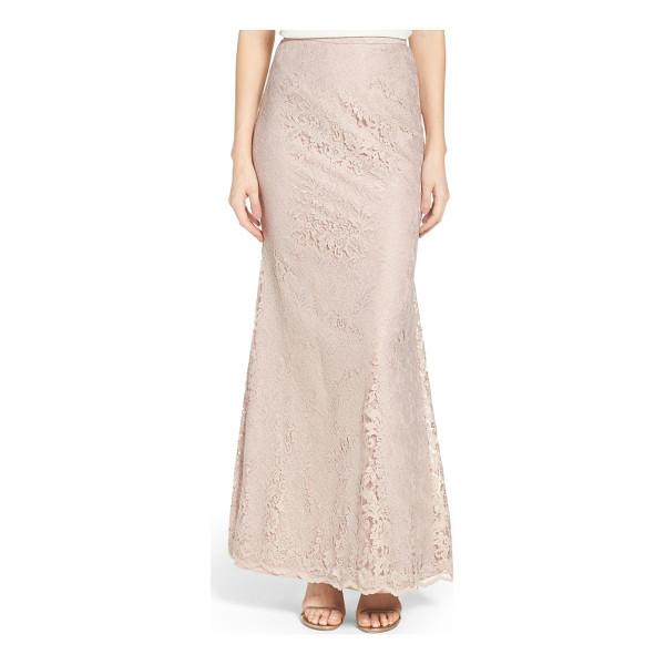 WATTERS esme fit-and-flare lace skirt - Easy elegance meets wedding-day glamour in this...