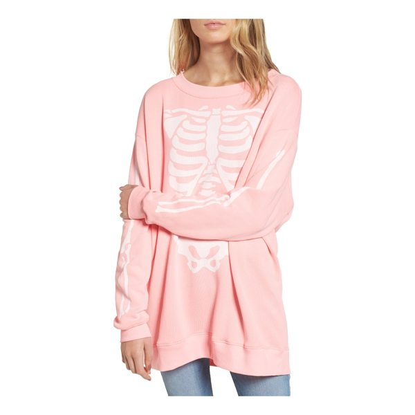 WILDFOX x-ray vision sweatshirt - Bare your bones while staying ultra cozy in a slouchy...