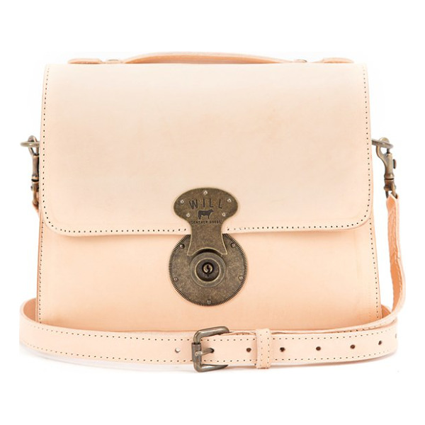 WILL LEATHER GOODS Quinn leather crossbody bag - A replica 1920s lock lends vintage appeal to a...