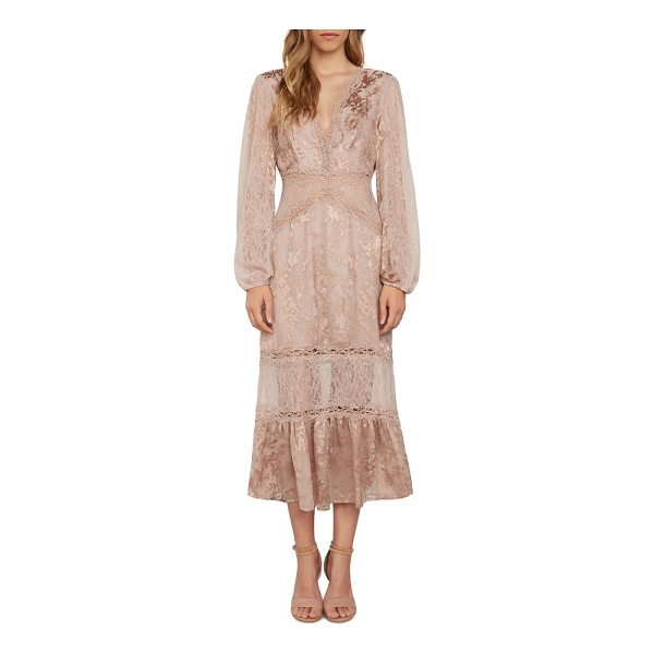 WILLOW & CLAY lace midi dress - Play your own version of a romantic heroine in a Victorian...
