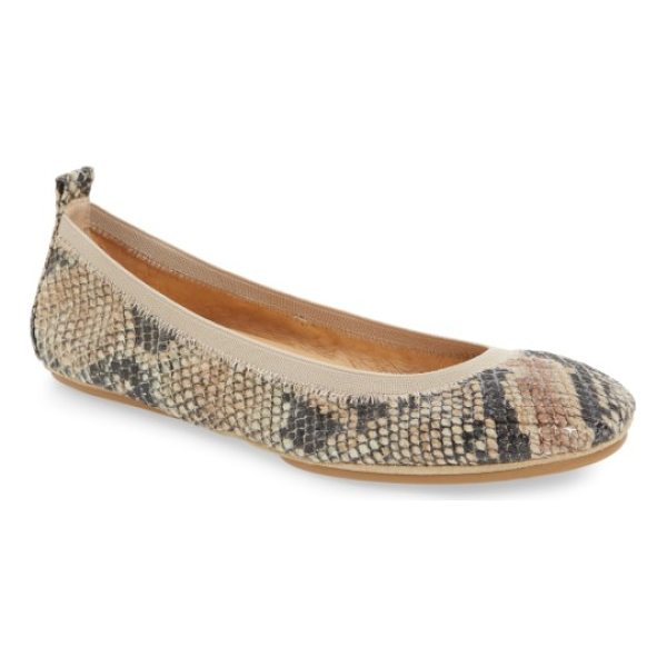 YOSI SAMRA samara 2.0 foldable ballet flat - An elastic topline perfects the fit of an essential ballet...