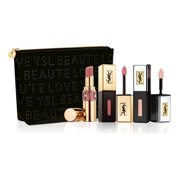 YVES SAINT LAURENT Rebel nudes set - Discover the secret to a flawless nude lip with the Rebel...