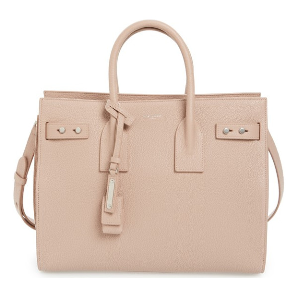 SAINT LAURENT small sac de jour tote - Subtle and elegant, this beautifully structured little tote