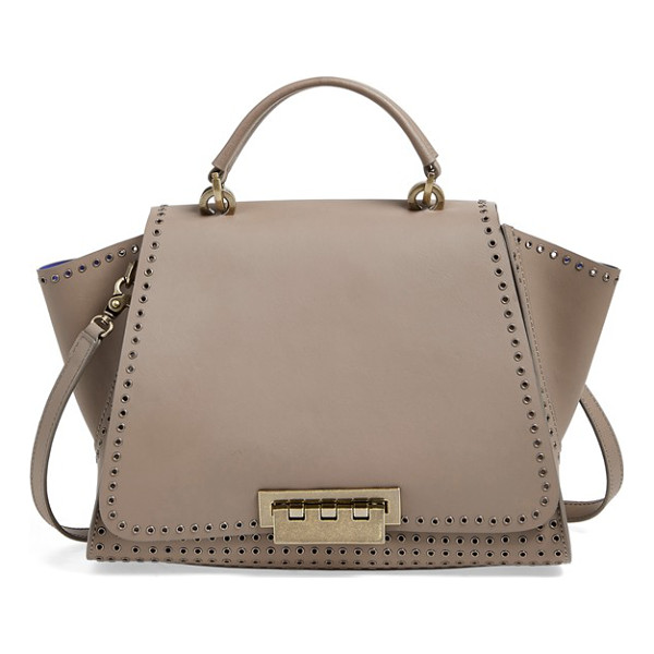ZAC ZAC POSEN Eartha iconic soft top handle satchel - Smooth calfskin composition underscores the timeless...